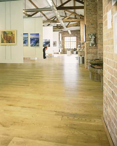 White Oak Unfinished Solid Hardwood Overlay