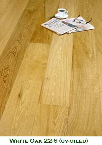 Diamond White Oak UV Oiled